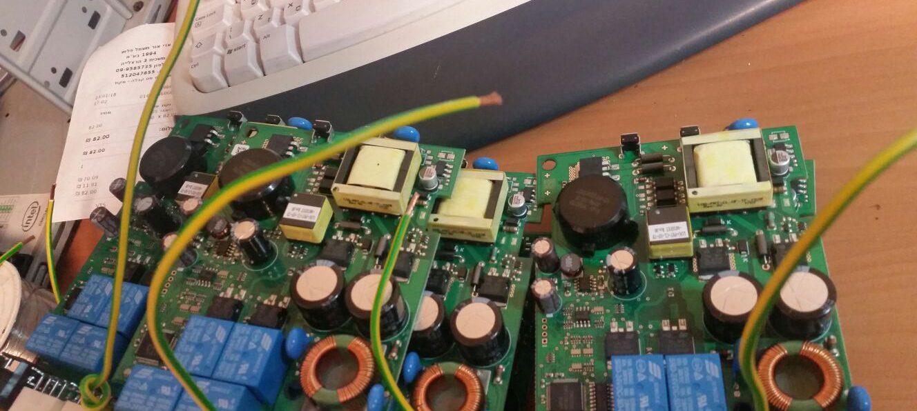 ייצור וחיווט מעגלים אלקטרוניים